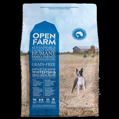 Open Farm Dog Catch Of Season Whfish&GrnLentil 24 lb