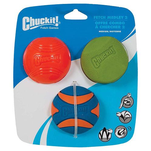 ChuckIt! Fetch Medley 3PK