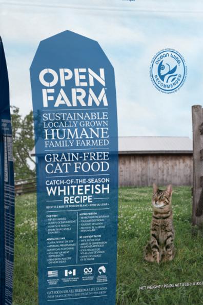 Open Farm Cat Catch Of Season Whitefish 4 lb