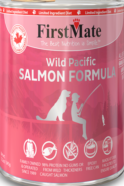 FirstMate Dog Grain Free Cans 12.2 oz