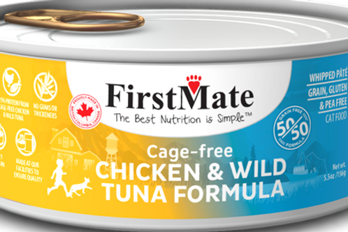 FirstMate Cat GF 50/50  Cans 5.5 oz