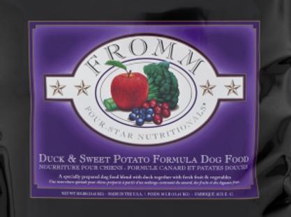 Fromm Dog Four-Star Duck a la Veg