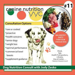 Nutrition consult with Jody Zesko