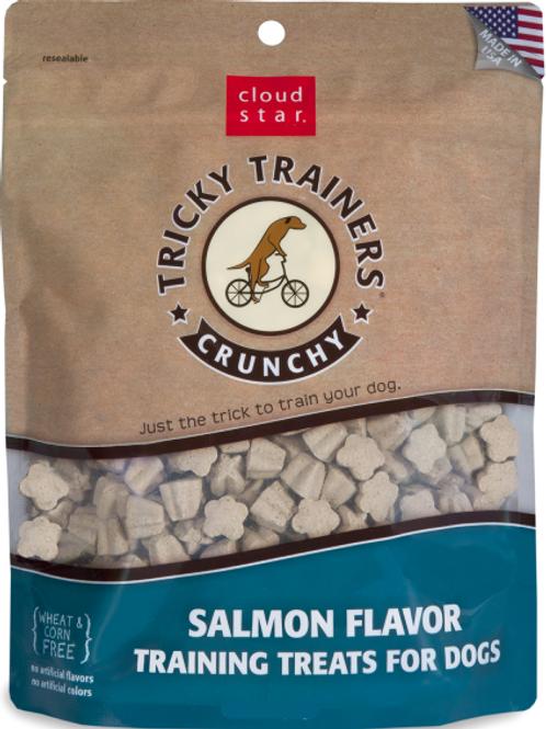 Cloud Star Tricky Trainers Crunchy Salmon Treat 8 oz