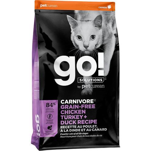 GO! Carnivore GF Chicken Turkey & Duck
