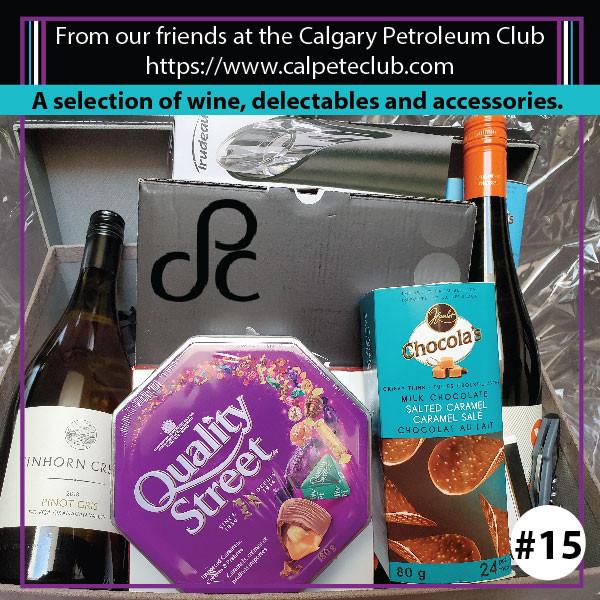 Petroleum Club Wine Basket