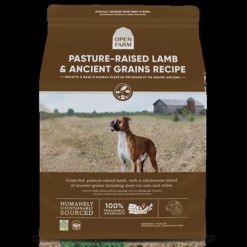 Open Farm Dog Pasture Raised Lamb & Ancient Grain 22 lb