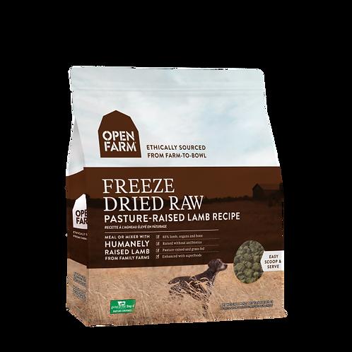 Open Farm Dog Freeze Dried Raw Pasture Raised Lamb