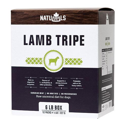 Naturawls Raw Lamb Tripe 12/227GM