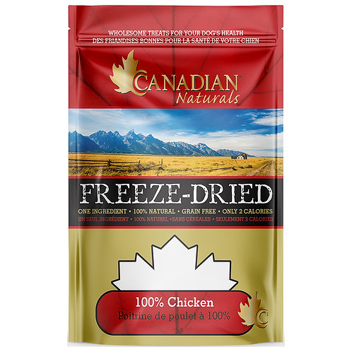 Canadian Naturals FD 100% Chicken Treats