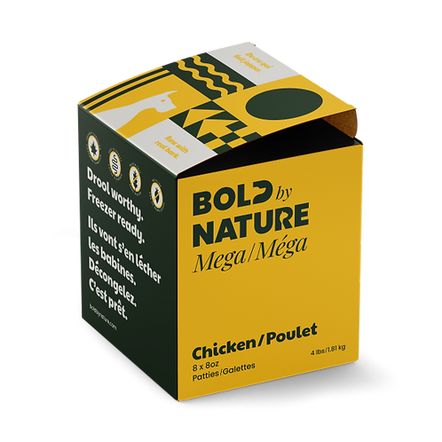 Bold by Nature Dog Mega Chicken