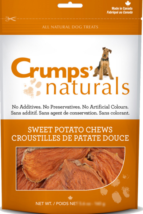 Crumps' Naturals Dog Sweet Potato Chews 11.6 oz