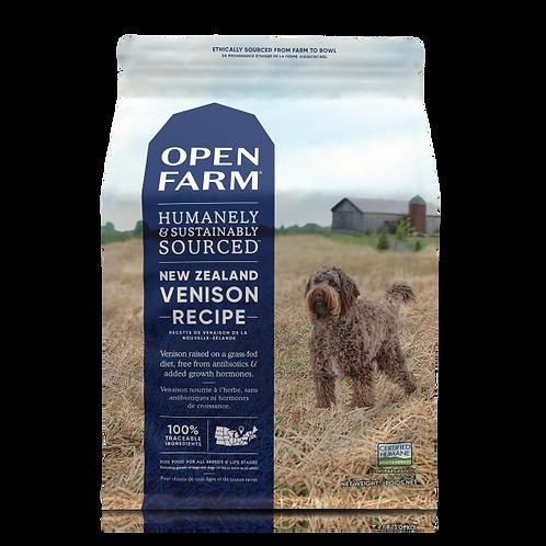 Open Farm Dog New Zealand Venison 24 lb