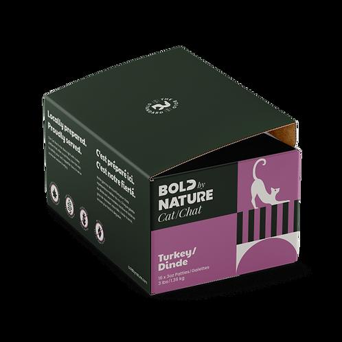 Bold by Nature Cat Turkey Patties 3 lb