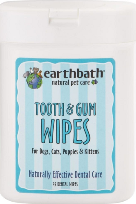earthbath Wipes 25 ct