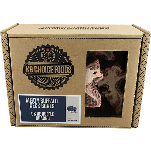 K9 CHOICE Frozen -Buffalo Neck Bones 1.36KG