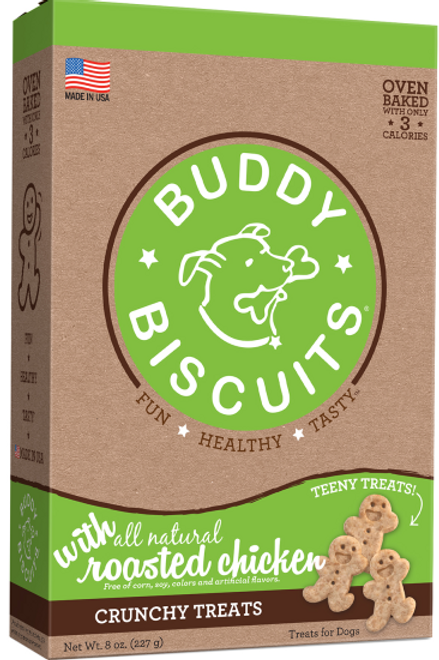 Buddy Biscuits Crunchy Teeny Treats  8 oz