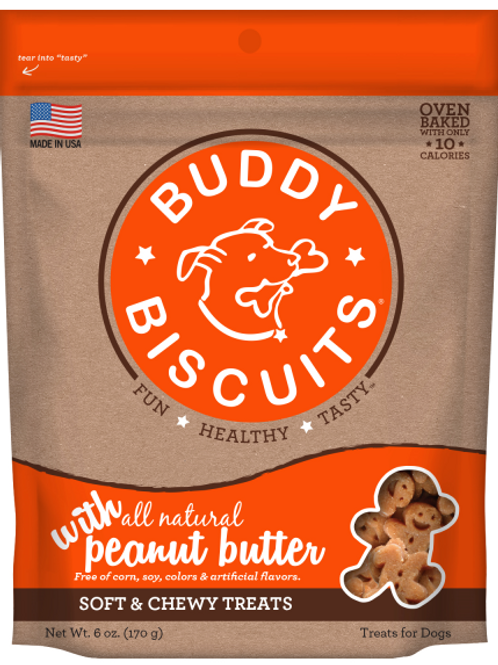 Buddy Biscuits Soft & Chewy Treats 6 oz