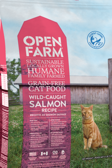 Open Farm Cat Wild Salmon 8 lb