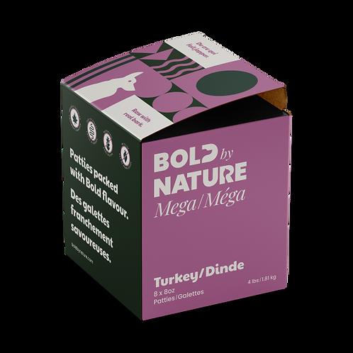 Bold by Nature Dog Mega Turkey