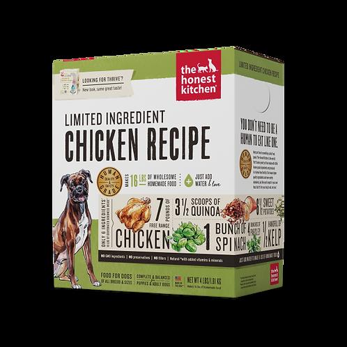 HK Dog Dehydrated LID Thrive Chicken & Quinoa