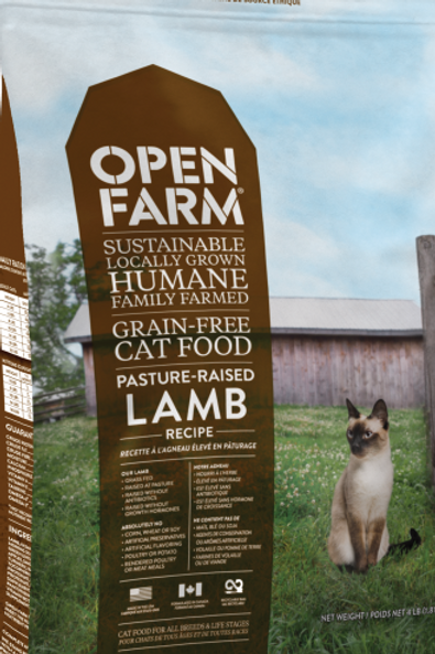 Open Farm Cat Pasture Raised Lamb 8 lb