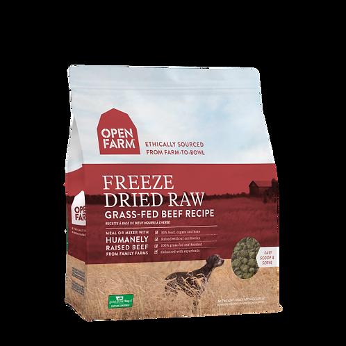 Open Farm Dog Freeze Dried Raw Grass-Fed Beef