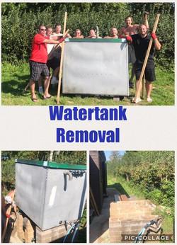 Watertank Removal