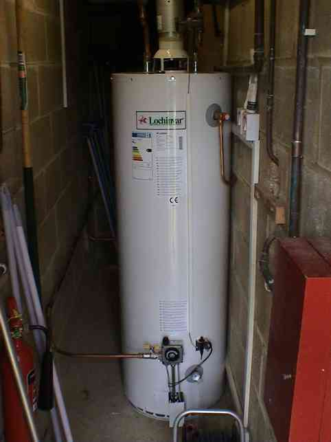 New Hot Water Tank