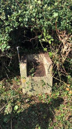 Old Latrine's sluice pre shower block