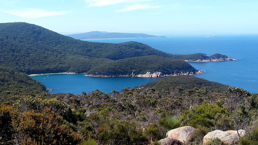 View of Refuge Cove in Wilsons Promontory National Park
