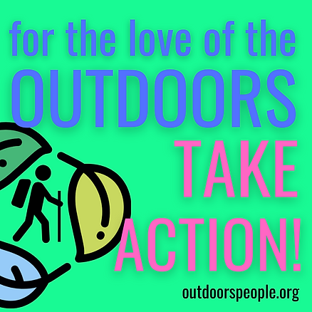TAKE ACTION! (i.e. with other groups and