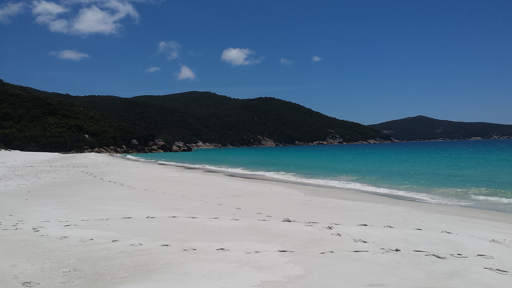Waterloo Bay in Wilsons Promontory National Park