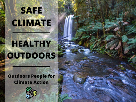 Outdoors People for Climate Action   Newsletter #1   2 April 2020