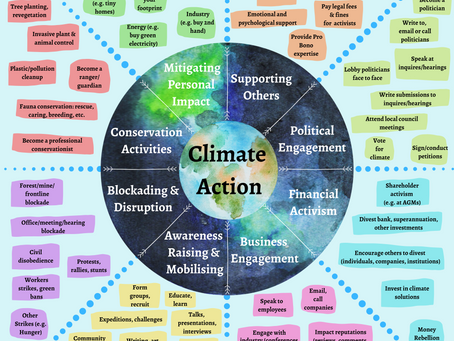Climate Action Tactics Map