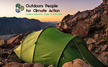 Outdoors People for Climate Action is born
