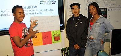 CrotonaIHS Students Presenting Soundcloud Music Creation
