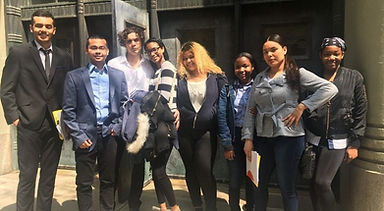 CrotonaIHS Students Doing Job Interviews
