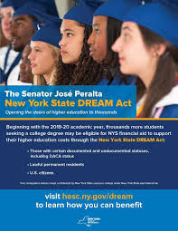New York State Dream Act Flyer