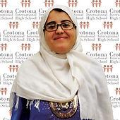 The Picture of Meriem Hadjahmed, Science Teacher