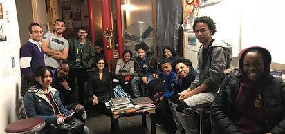 CrotonaIHS Students Visiting The Glass Files