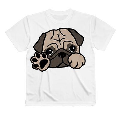 PUG, pug, パグ, ぱぐ, pug, Tシャツ, パーカー, 服, ウェア, ファッション, 犬, 柄, DOG, パピー, グッズ, アイテム, 商品, かわいい, DOG,