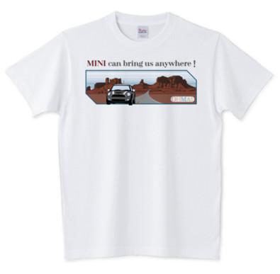 MINI, ミニクーパー, Tシャツ, カジュアル, BMW, ファッション, 衣料, カワイイ, かっこいい, アパレル