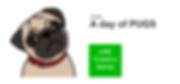 PUG, PUGS, パグ, LINE, ライン, スタンプ, かわいい, 犬, DOG, STAMP, フォーン,