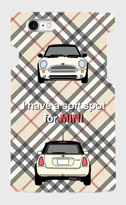 MINI, ミニクーパー, iphone, アイフォン, ケース, カバー, スマホ, スマートフォン, BMW, COVER