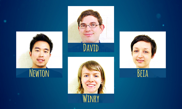 Our ANM award goes to David, Newton, Beia, and Winry!