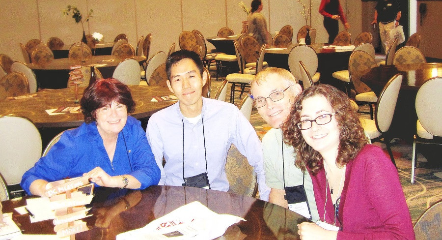 At the District Conference, Milli, Isaac, Mike, Sylvie, and Allison represented Central Austin Toastmasters.