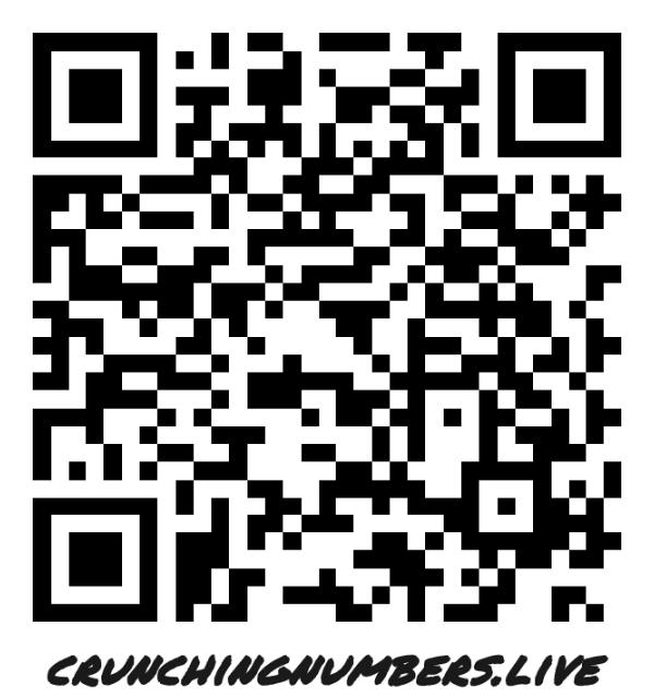 Visit crunchingnumbers.live for more information!