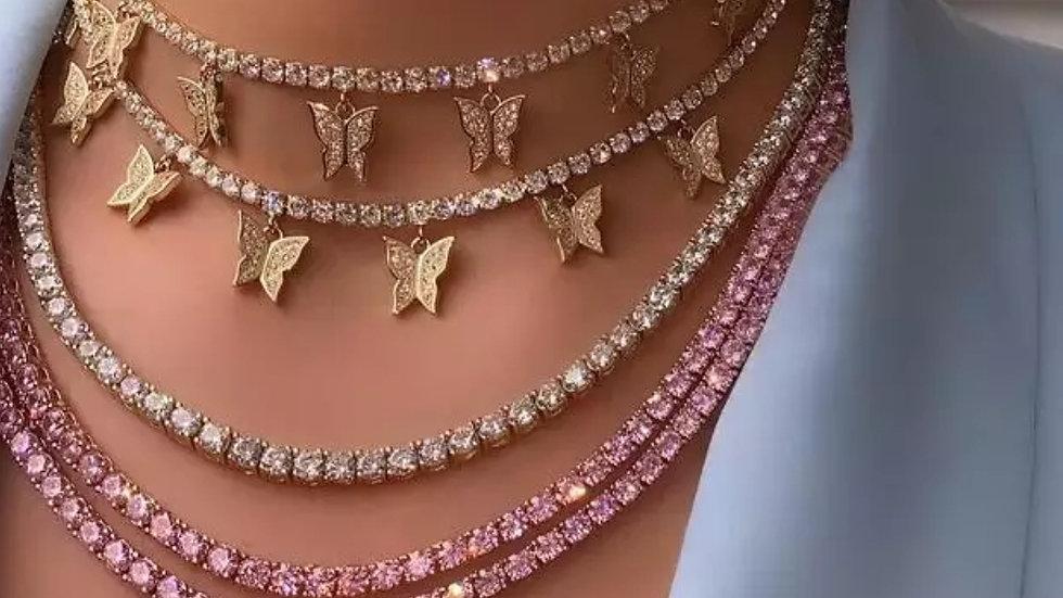 Aaliyah Butterfly Chocker