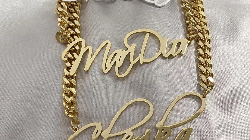 Cuban Chain Nameplate